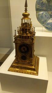 Augsburgo, 1625. Cobre dorado y latón