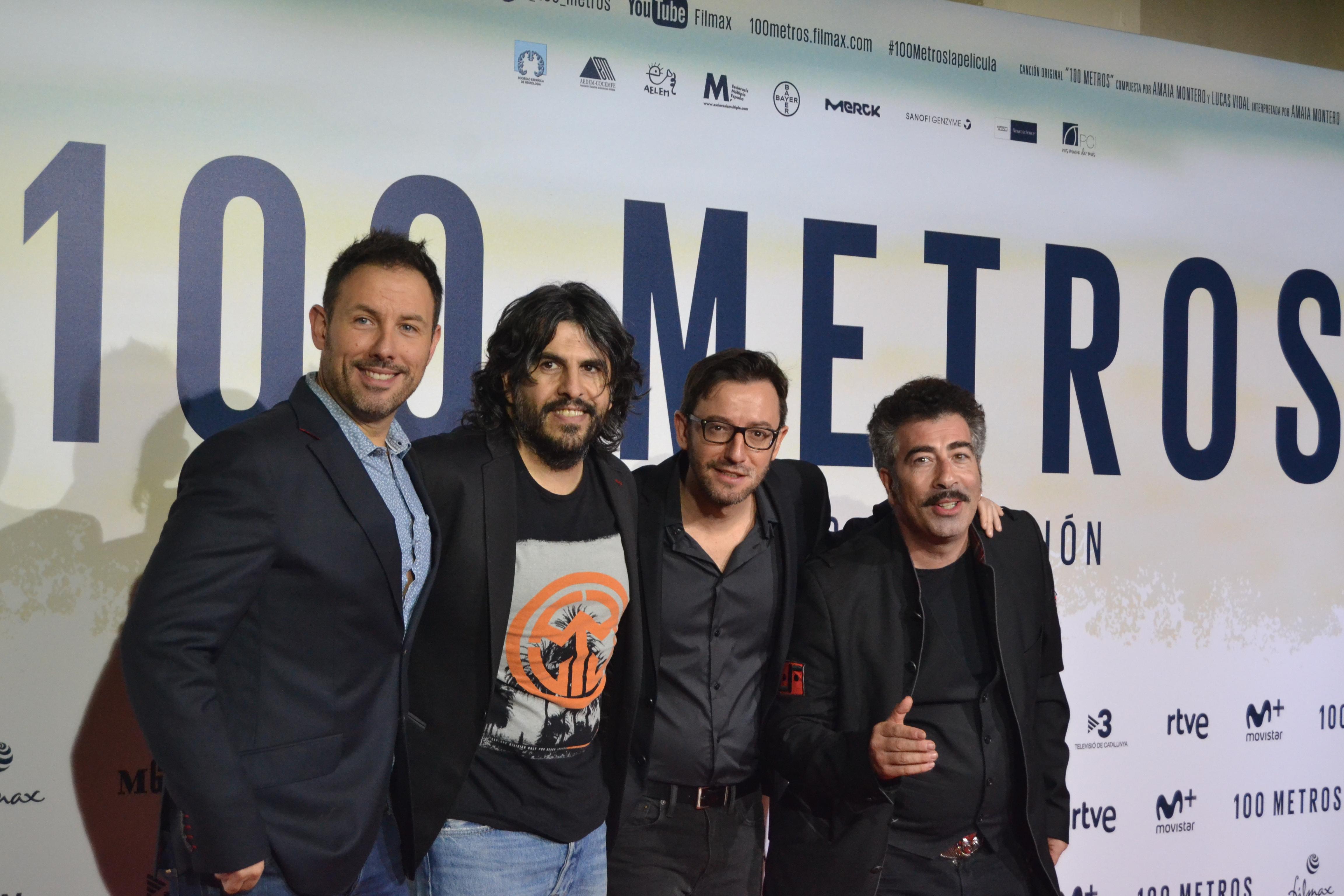Iñaki Urrutia, José Juan Vaquero, David Navarro y Agustín Jiménez