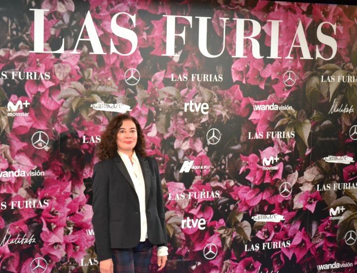 Chus Gutiérrez en el estreno de Las Furias