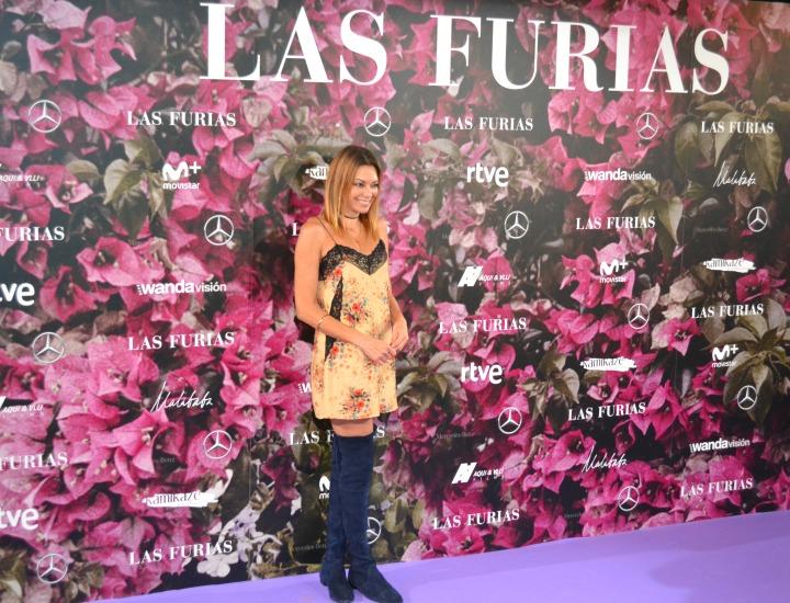 Lucía Hoyos en el estreno de Las Furias