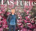Modesto Lomba en el estreno de Las Furias