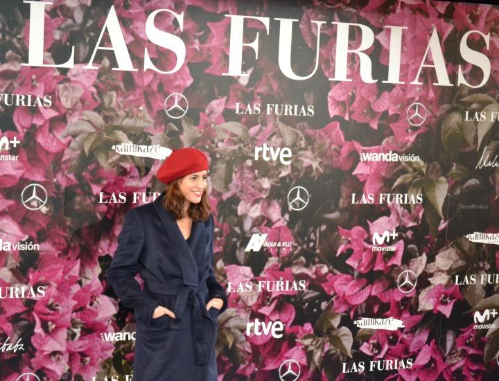 Ana Turpin en el estreno de Las Furias