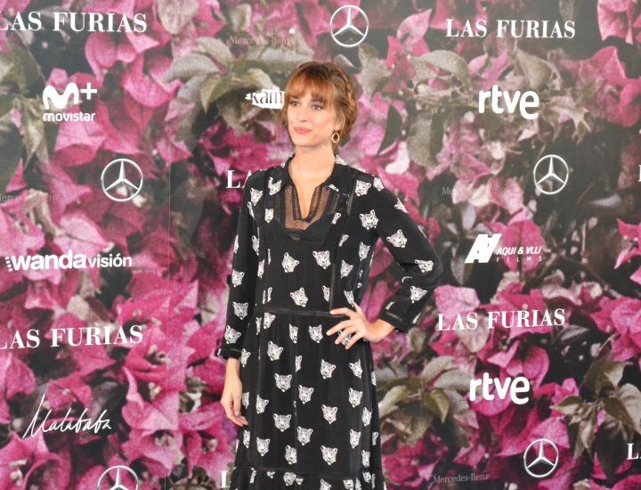 Silvia Alonso en el estreno de Las Furias