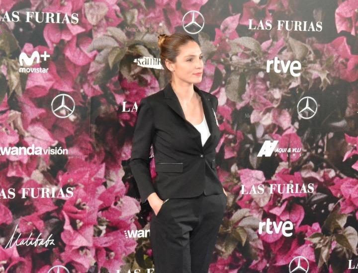 Paloma Bloyd en el estreno de Las Furias