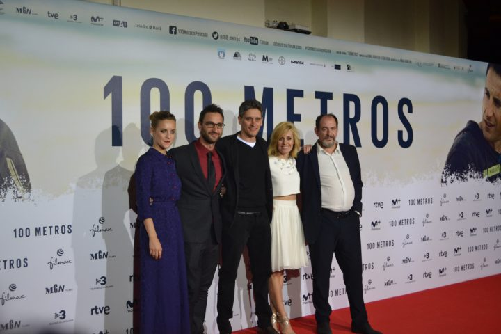 Alba Rivas, Dani Rovira, Marcel Barrena, Alexandra Jiménez y Karra Elejalde
