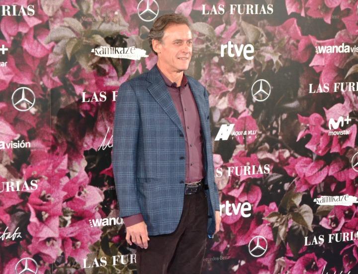 Daniel Freire en el estreno de Las Furias