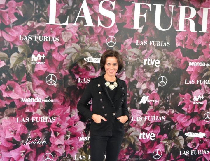 Fanny Gautier en el estreno de Las Furias