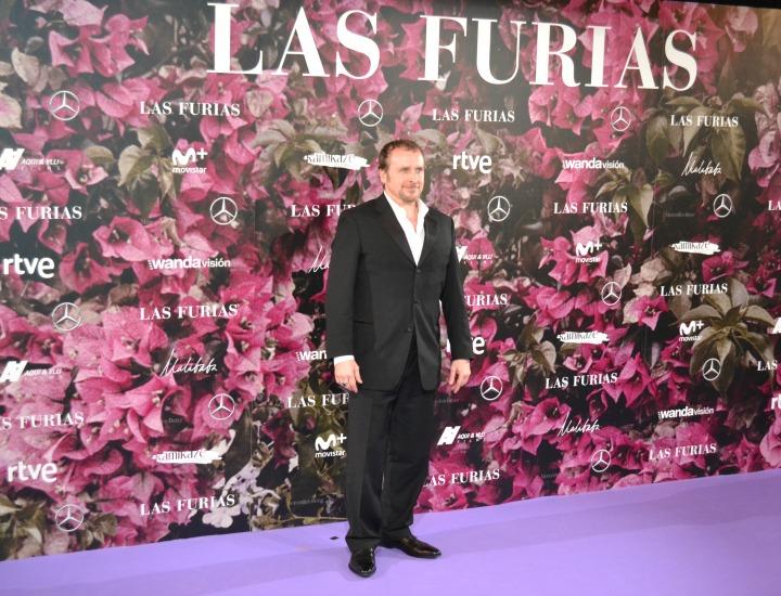 Fernando Cayo en el estreno de Las Furias