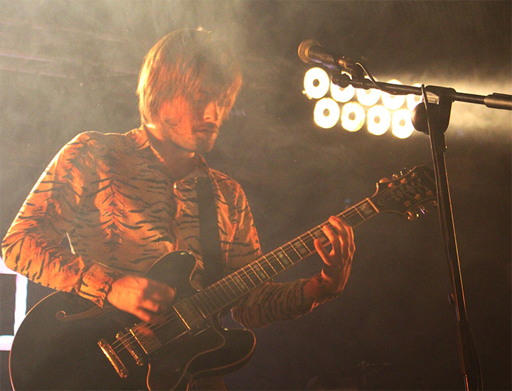 Guillermo Sinnerman, guitarra de Bengala