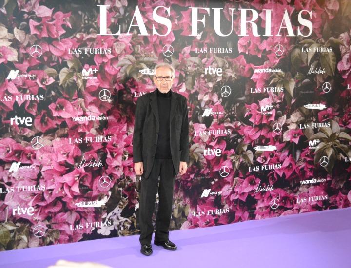 José Sacristán en el estreno de Las Furias