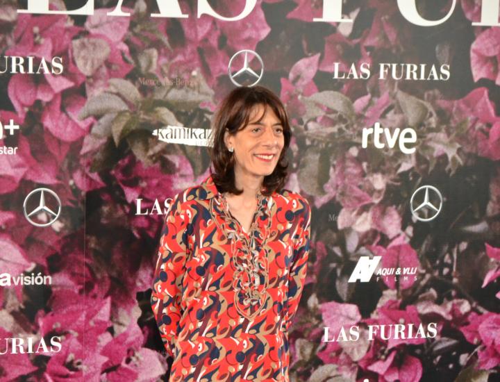 Juana Cordero en el estreno de Las Furias
