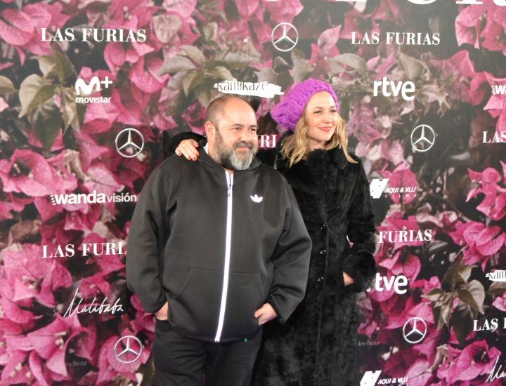 Juanma Cifuentes y Pilar Castro en el estreno de Las Furias