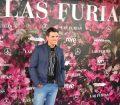 Luis Larrodera en el estreno de Las Furias