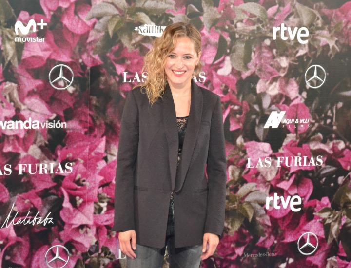 Marta Larralde en el estreno de Las Furias