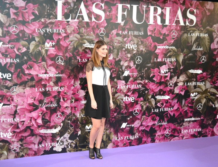 Nerea Camacho en el estreno de Las Furias