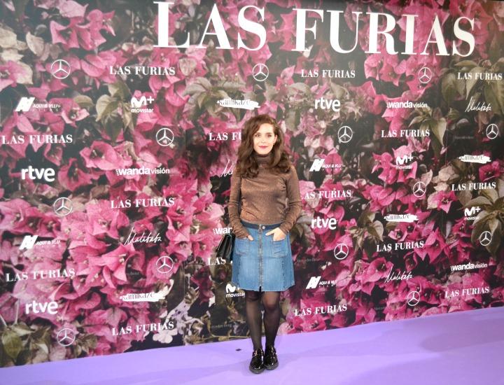 Nuria Gago en el estreno de Las Furias