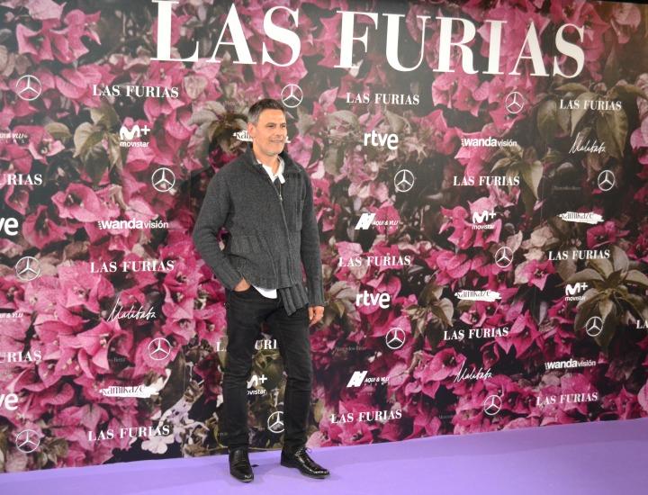 Roberto Enríquez en el estreno de Las Furias