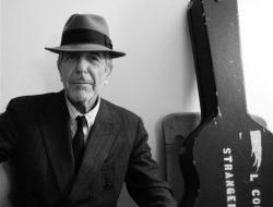 Fotografía de Leonard Cohen