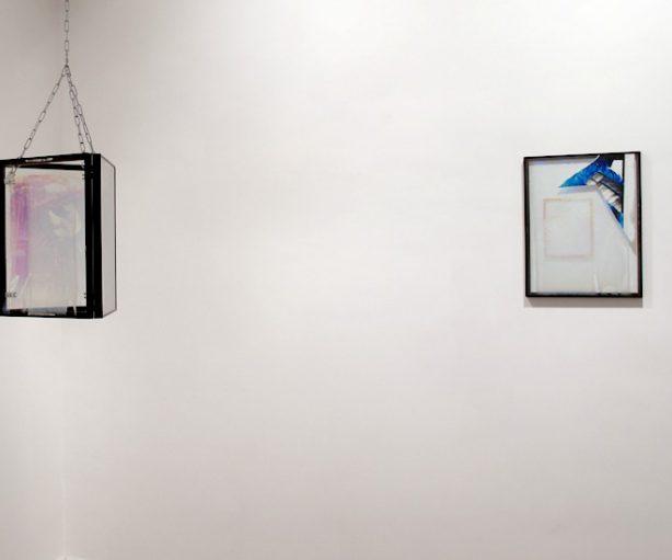 Dos piezas de la exposición Limbo de Alfredo Rodríguez
