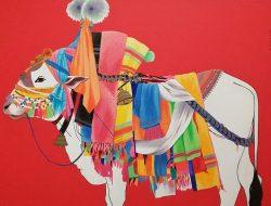 Arte de la India: Toro sagrado de Gangireddu, 2012