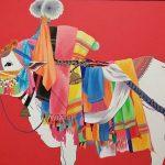 Arte de la India: Toro sagrado de Gangireddu, 2012 (Foto: Alvaro Guzmán)