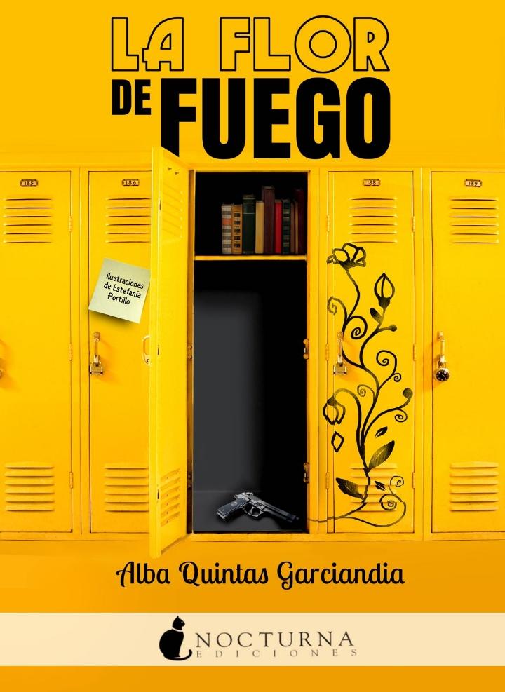 Novela La flor de fuego, de Alba Quintas Garciandia