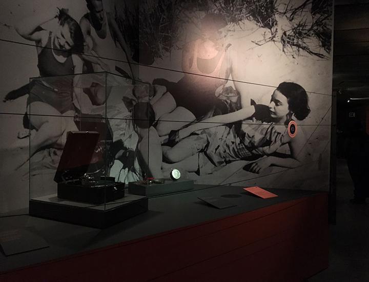 Exposición ¡Grabando! de la música: tocadiscos