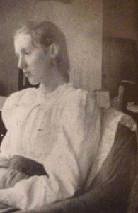 Virginia Woolf con 14 años