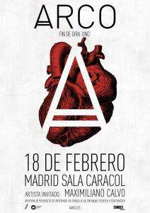 Arco en Sala Caracol (Madrid)