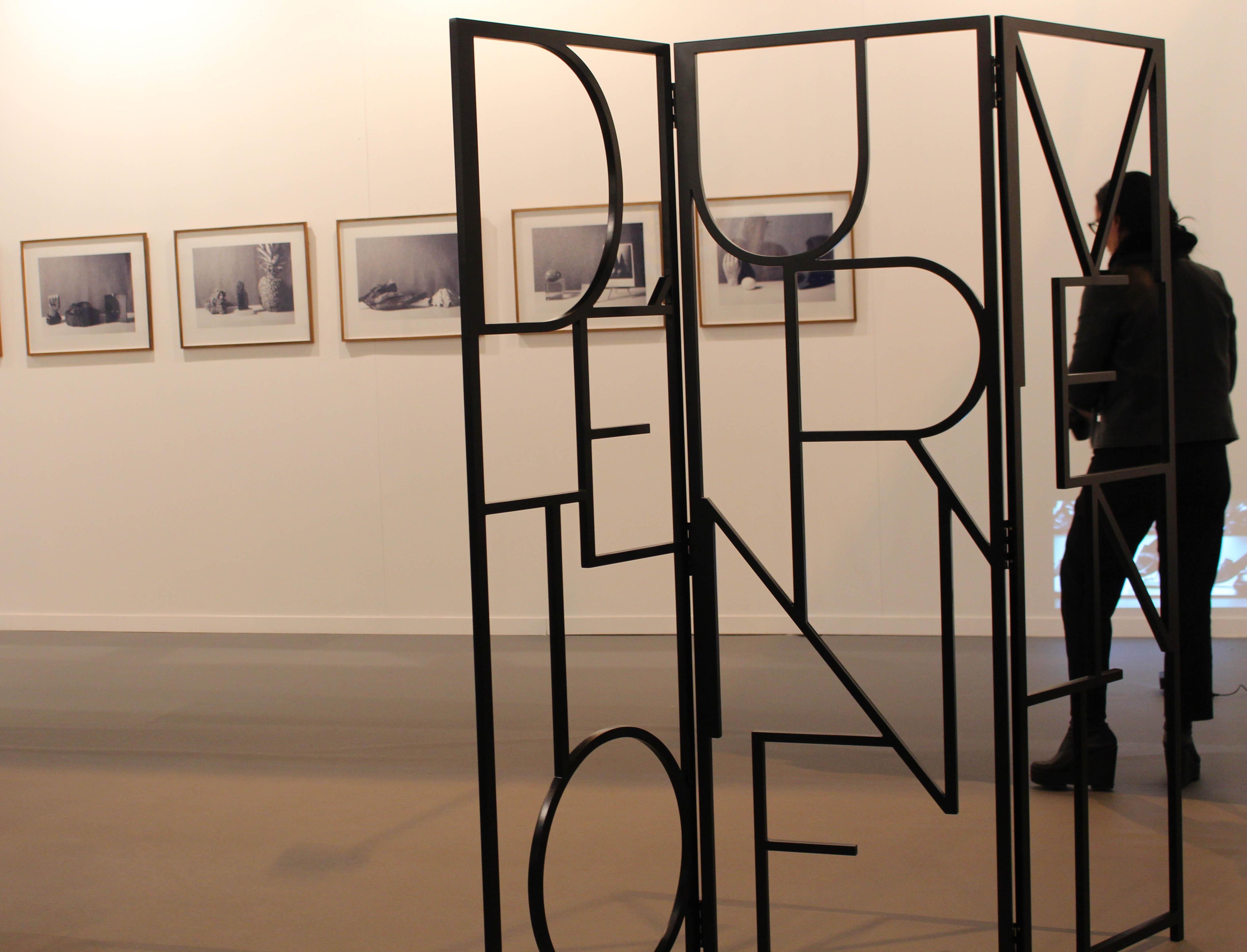 Escultura del artista argentino Alejandro Kuropatwa