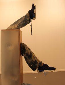 Obra expuesta en el Stand de Barro Arte Contemporáneo