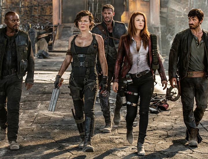 Equipo de sobrevivientes liderado por Claire