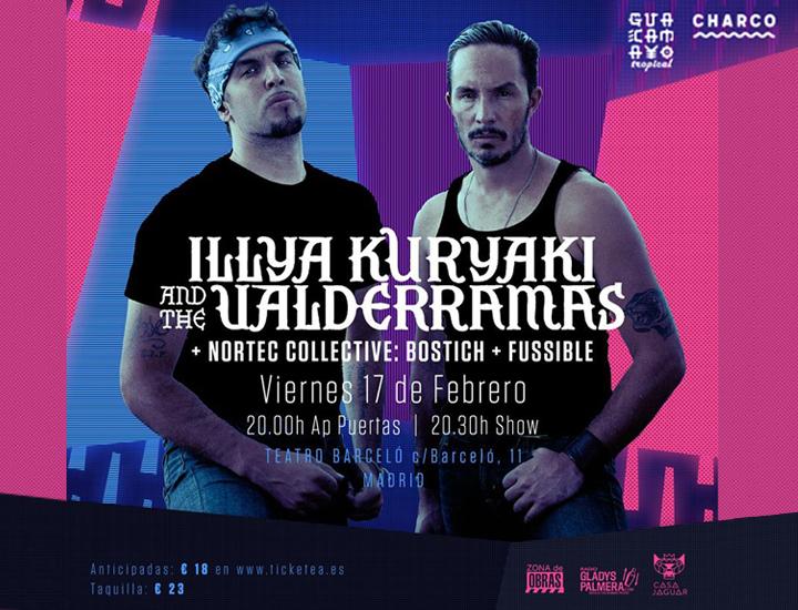 Illya Kuryaki and the Valderramas en el Teatro Barceló