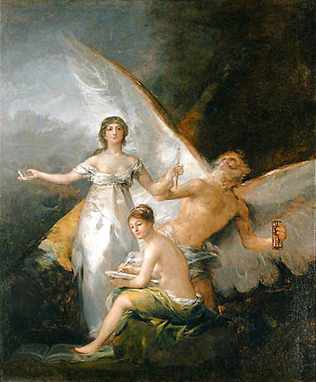 'La Verdad, el Tiempo y la Historia' de Goya