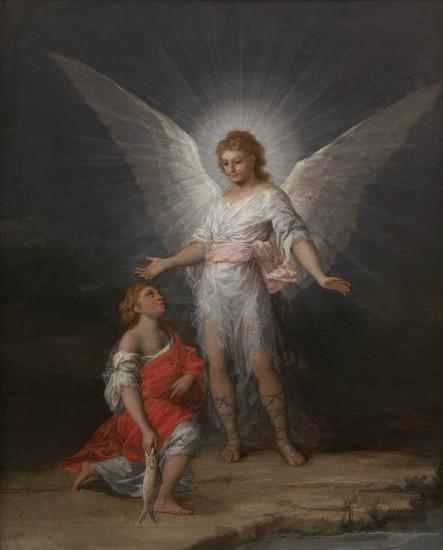 'Tobías y el Ángel' de Goya