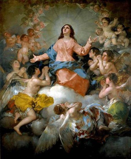 'La Asunción de la Virgen' de Goya