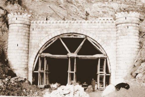 Construcción túnel n-1 (1951)