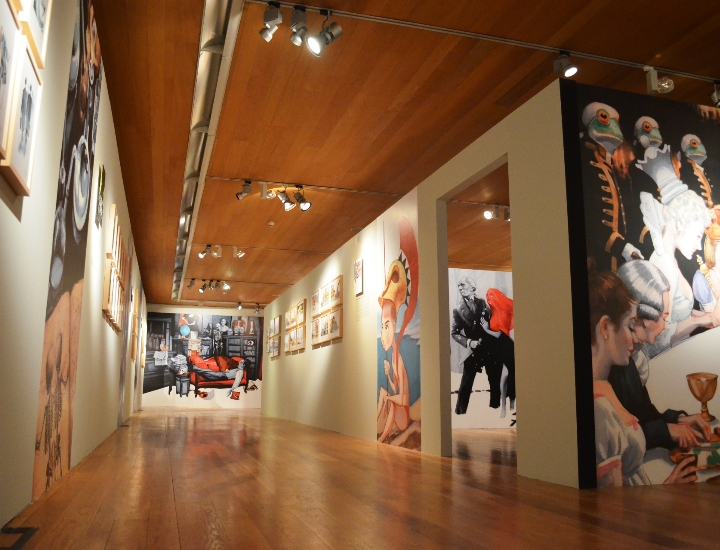 Interior de la exposición Ⓒ Cristina García