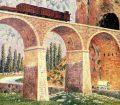 Puente de la vía del ferrocarril por Darío Regoyo