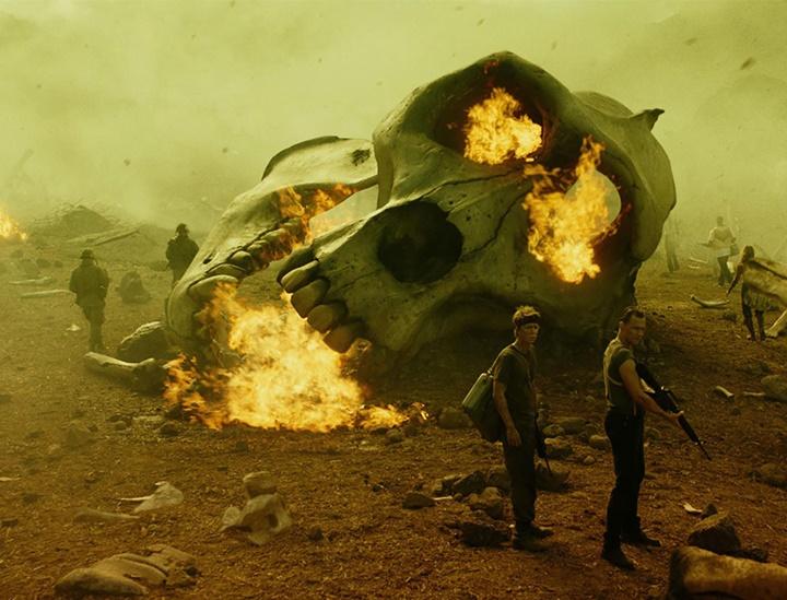 Kong Skull Island, película de 2017