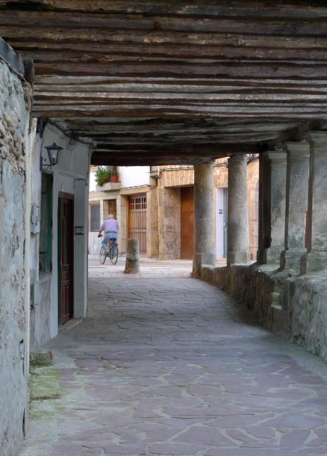 Soportales propios de Castilla