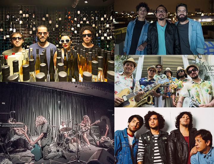 Las mejores bandas de Peru 2017