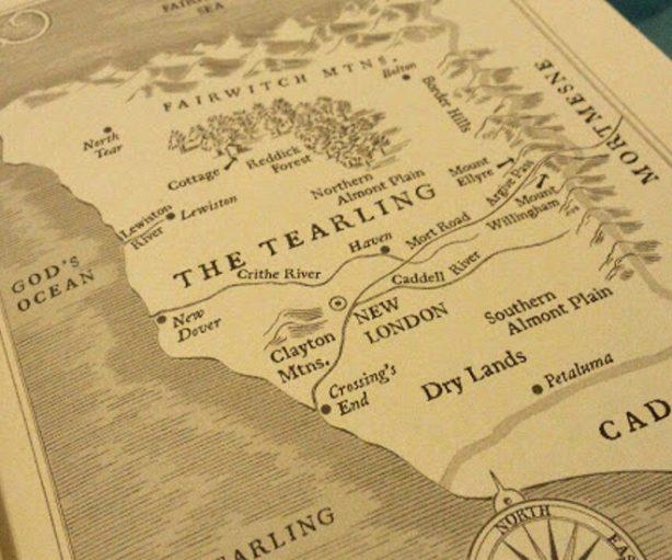 Mapa Tearling