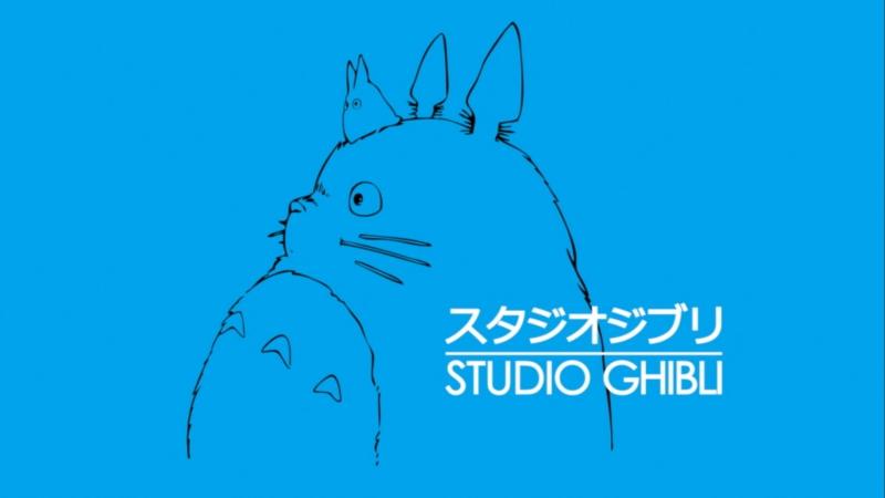 Hayao Miyazaki. Logo Studio Ghibli