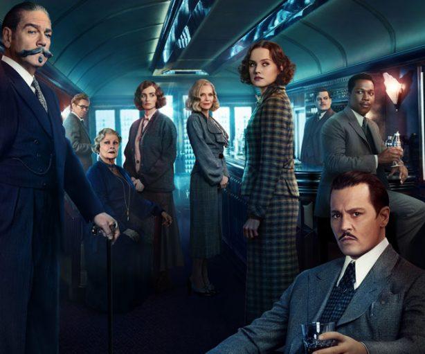 Cartel promocional de Asesinato en el Orient Express