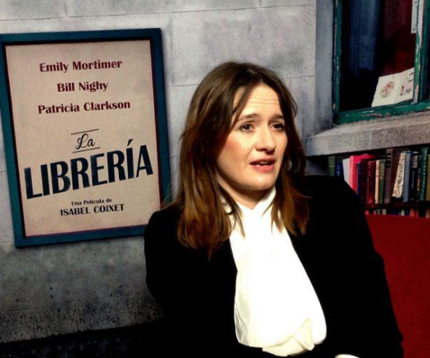 Emily Mortimer, en la presentación de 'La librería'. // Marcos Martín