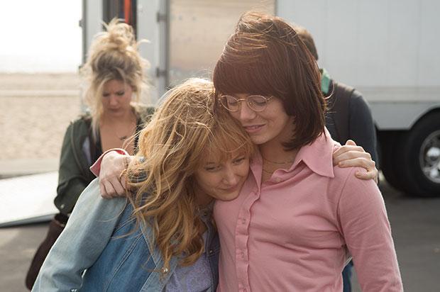 Emma Stone y Andrea Riseborough..