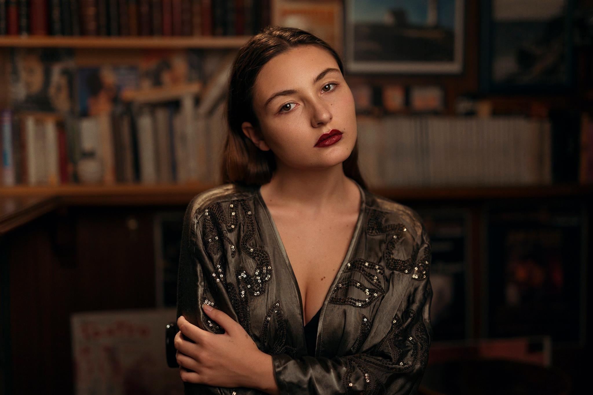 Retrato, Isabella Phillips.