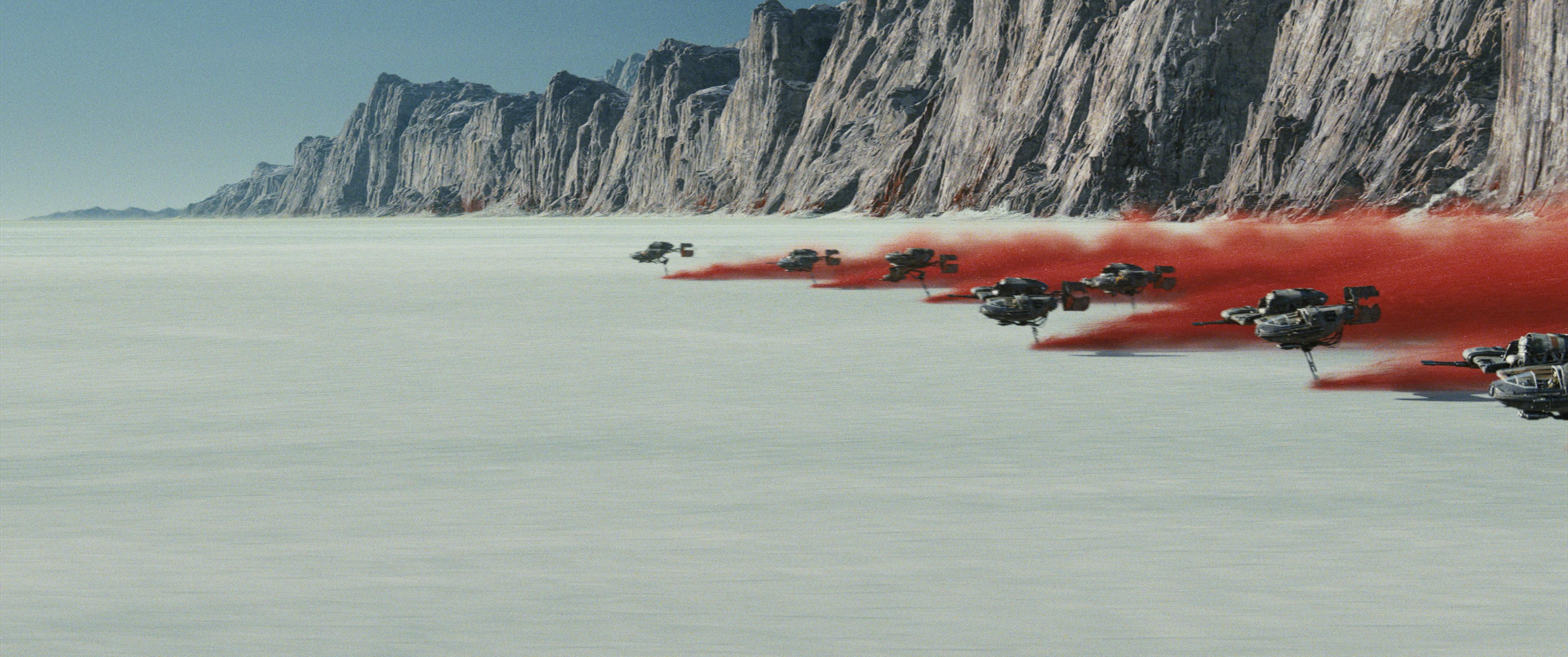 Fotograma de 'Los últimos Jedi'.