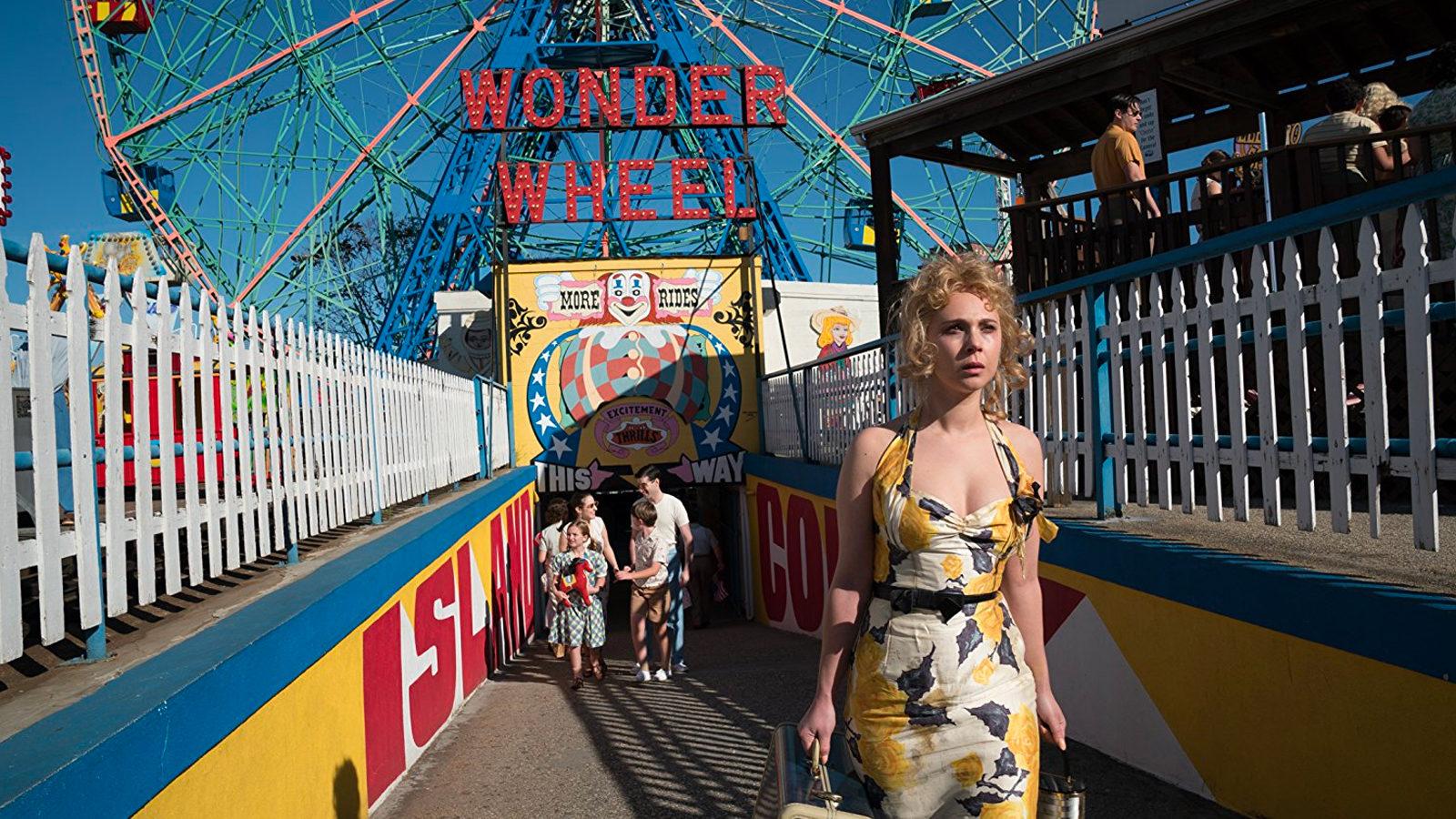 Juno Temple, en una escena de Wonder Wheel.